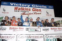 Team Spencer Motorsports n'a pas seulement décroché le titre à Watkins Glen, mais également une place sur le podium du classement général (3e)