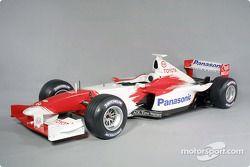 La Toyota TF102 de la saison 2001