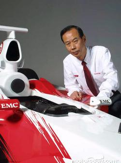 El vicepresidente Ichiro Kowada