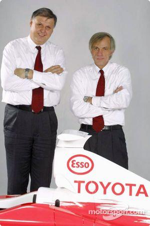 Norbert Kreyer et Gustav Brunner