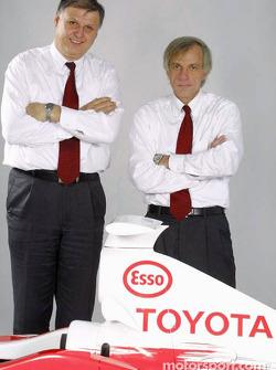 Norbert Kreyer y Gustav Brunner