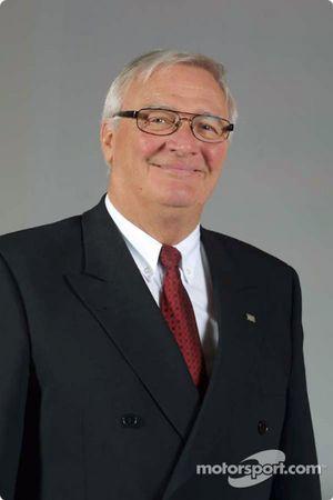 Le président Ove Andersson