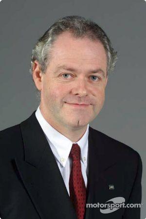 Richard Cregan, manager général F1 Operation