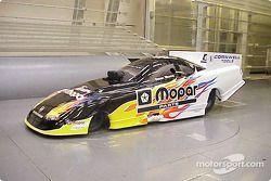 Dean Skuza dans la Dodge Stratus NHRA Funny Car