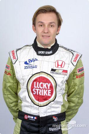 Le pilote d'essais Patrick Lemarié