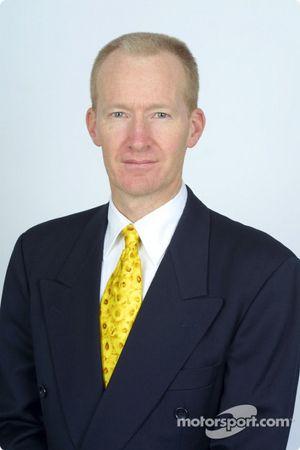 Malcolme Oastler, directeur de l'ingénierie