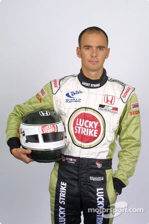 Le pilote d'essais Darren Manning