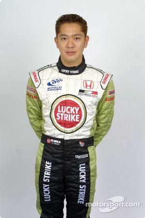 El piloto de pruebas, Ryo Fukuda