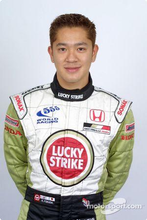 Test driver Ryo Fukuda