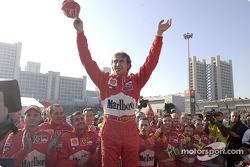 Luca Badoer and Team Ferrari