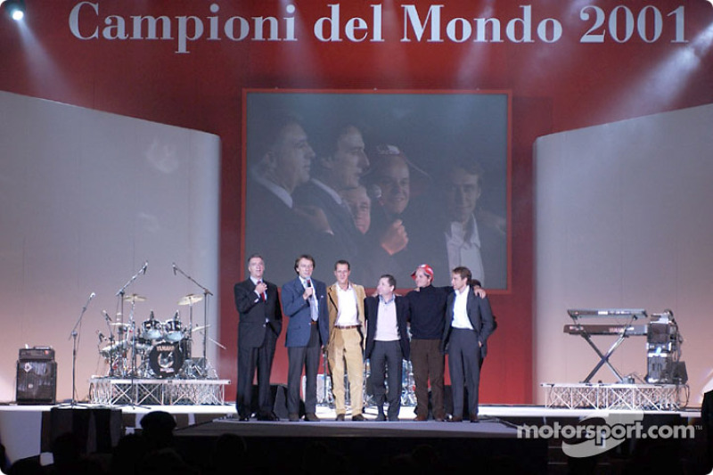 Concert for Ferrari and Maserati employees and their families at the Palamalaguti stadium in Bologna