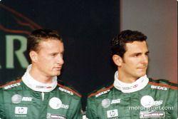 Eddie Irvine y Pedro de la Rosa