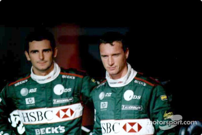 Pedro de la Rosa and Eddie Irvine