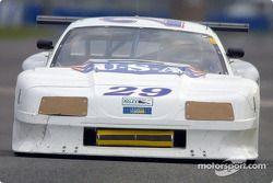 Sky Blue Racing's #29 Mustang, essais libres de Daytona