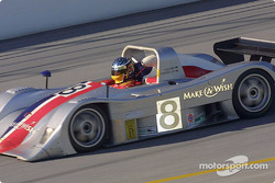 The #8 Rand Racing Nissan Lola was the fastest SRPII car at Daytona on Saturday