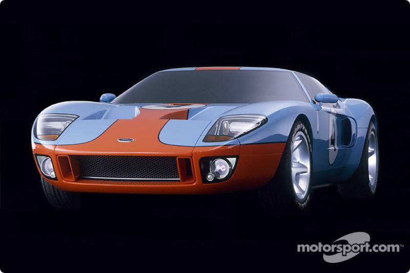 Концепт-кар Ford GT40