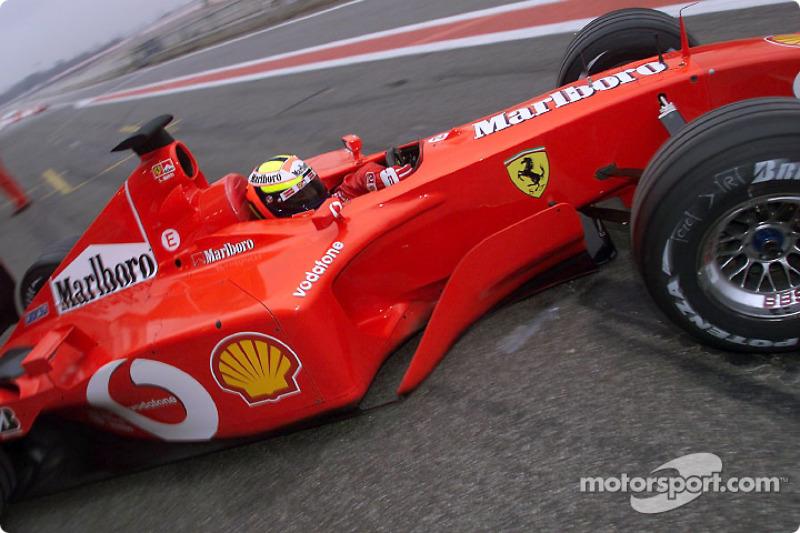 Лучано Бурти (тест-пилот Ferrari в 2002-2004 годах)