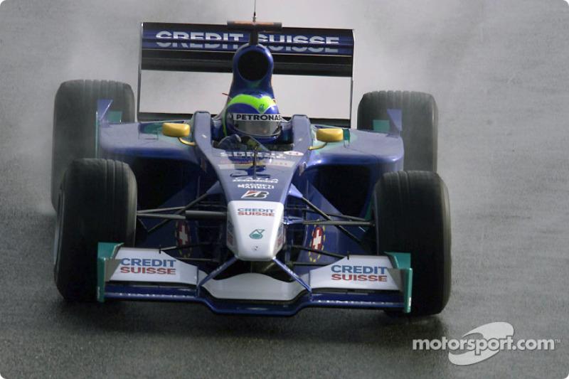 """2002: سيارة ساوبر """"سي21"""" – أربع نقاط، المركز الـ13 في البطولة"""