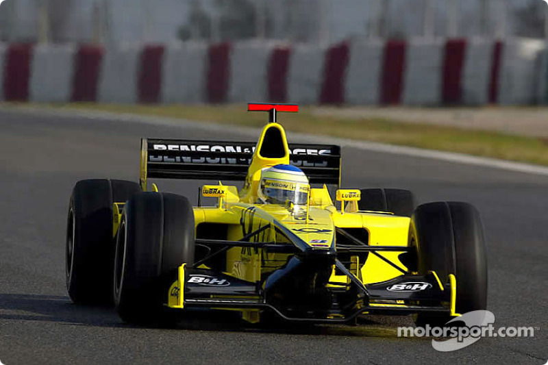 Giancarlo Fisichella: Jordan (1997 y 2002-2003)