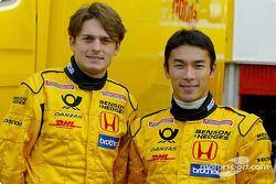 Giancarlo Fisichella et Takuma Sato