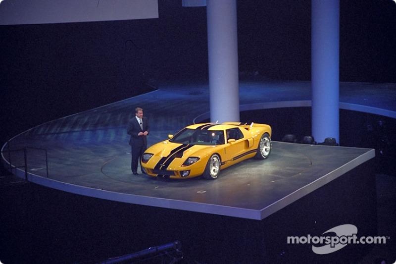 Bill Ford and GT40 concept car