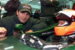 Pedro de la Rosa y Niki Lauda
