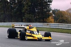 Renault enters Formula 1: Jean-Pierre Jabouille with Renault RS 01