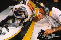 阿兰·普罗斯特与Bernard Dudot 在测试环节
