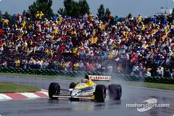 Thierry Boutsen, a Williams-Renault