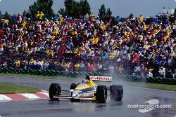 Тьерри Бутсен на Williams-Renault