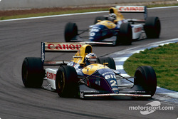 Damon Hill and Alain Prost