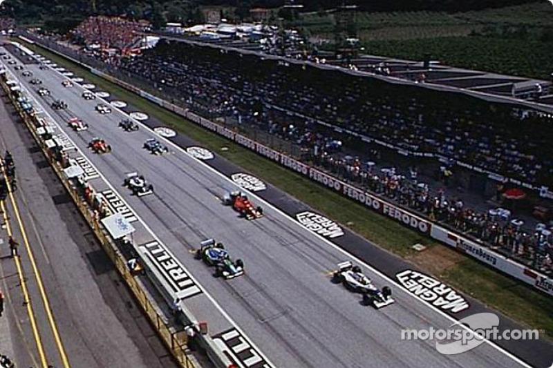 La arrancada: Ayrton Senna en la pole