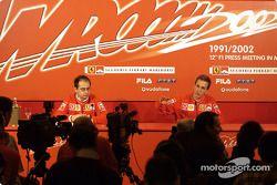 Conférence de presse avec Luciano Burti
