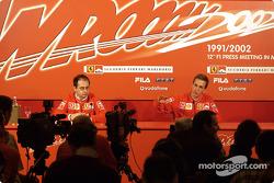 Conferencia de prensa con Luciano Burti