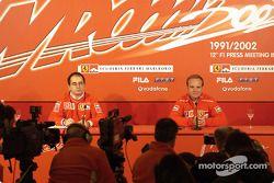 basın toplantısı ve Rubens Barrichello