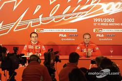 Conferencia de prensa con Rubens Barrichello