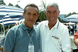 Jacky Ickx and Vic Elford