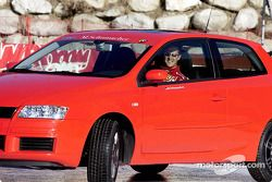 Michael Schumacher Fiat Stilo
