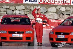 Michael Schumacher y el Fiat Stilo