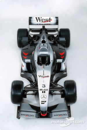 El nuevo McLaren Mercedes MP4-17