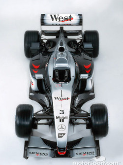 The new McLaren Mercedes MP4-17