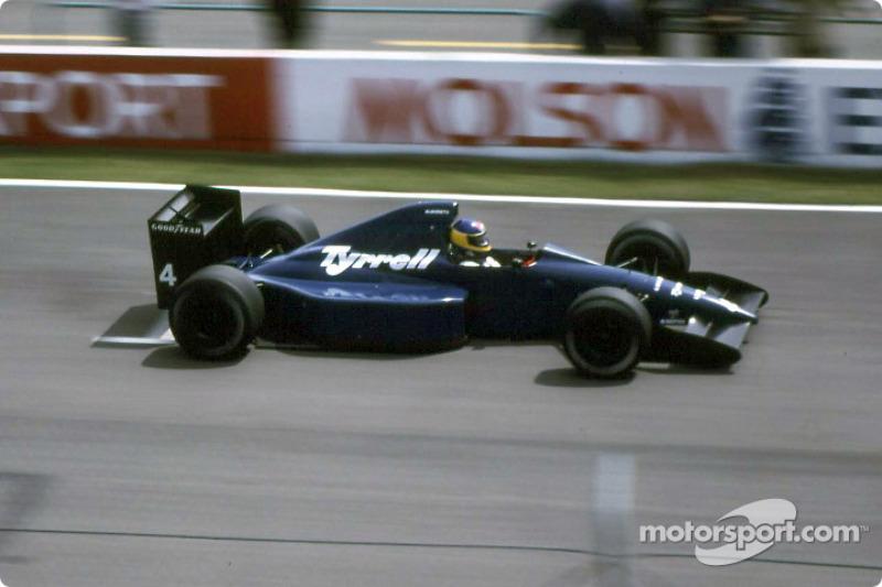 8 -Michele Alboreto, Tyrrell - 1989