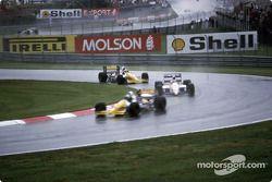 Pierluigi Martini, Minardi M189, Piercarlo Ghinzani, Osella FA1M89, Luis Perez-Sala, Minardi M189