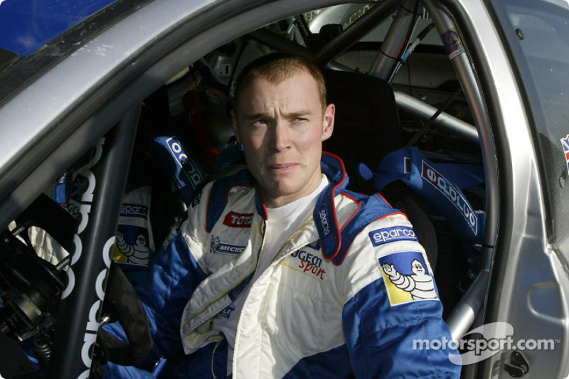 Richard Burns, campeón del mundo del WRC 2001