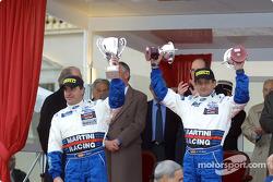 Le podium: Carlos Sainz