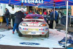 Roger Feghali terminó en tercer lugar en el nuevo World Junior Rally Championship en un Ford Puma