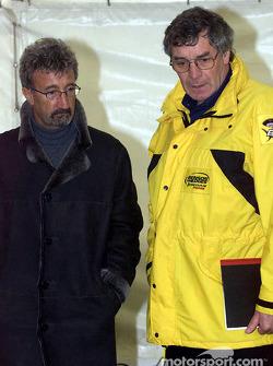 Eddie Jordan y Gary Anderson