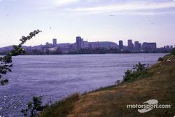 Montréal vu depuis l'île Notre-Dame