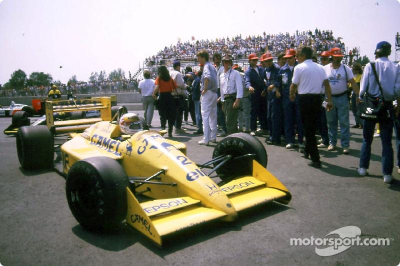 Сатору Накаджима, Lotus 100T Honda (1 очко)