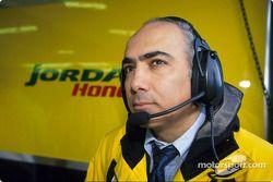 El director técnico, Eghbal Hamidy